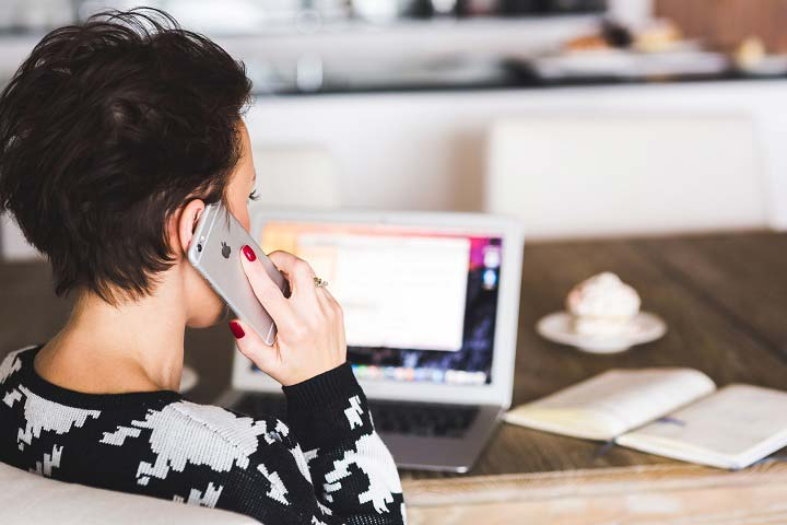 women conference call