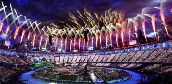 Opening Ceremony at Rio Olympics
