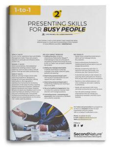 Presenting Skills For Busy People topline