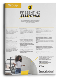 Presenting Essentials topline (group)