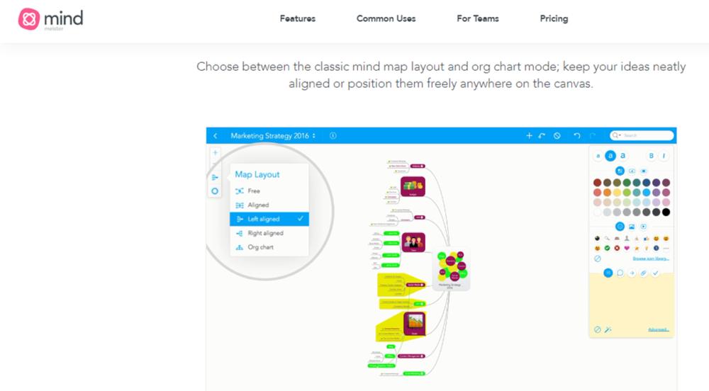 Mindmeister online collaboration tool