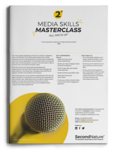 Media Skills Masterclass topline