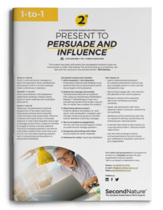 Present to Persuade and Influence topline (1-to-1)