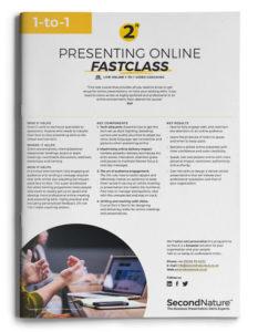 Presenting Online Fastclass topline (1-to-1)