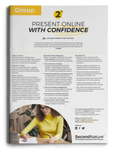 Present Online With Confidence topline (group)