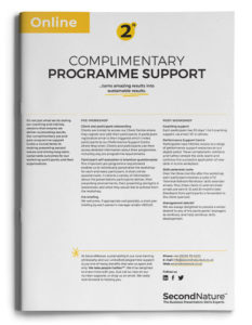 Complimentary programme support (online)